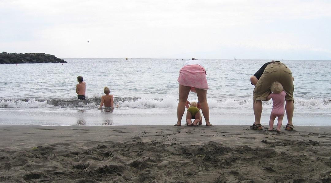 Storfamilien på ferie