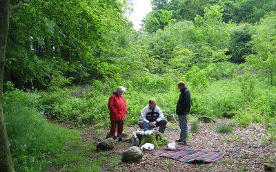 Tre generationer på jagt efter Danmarks højeste punkt