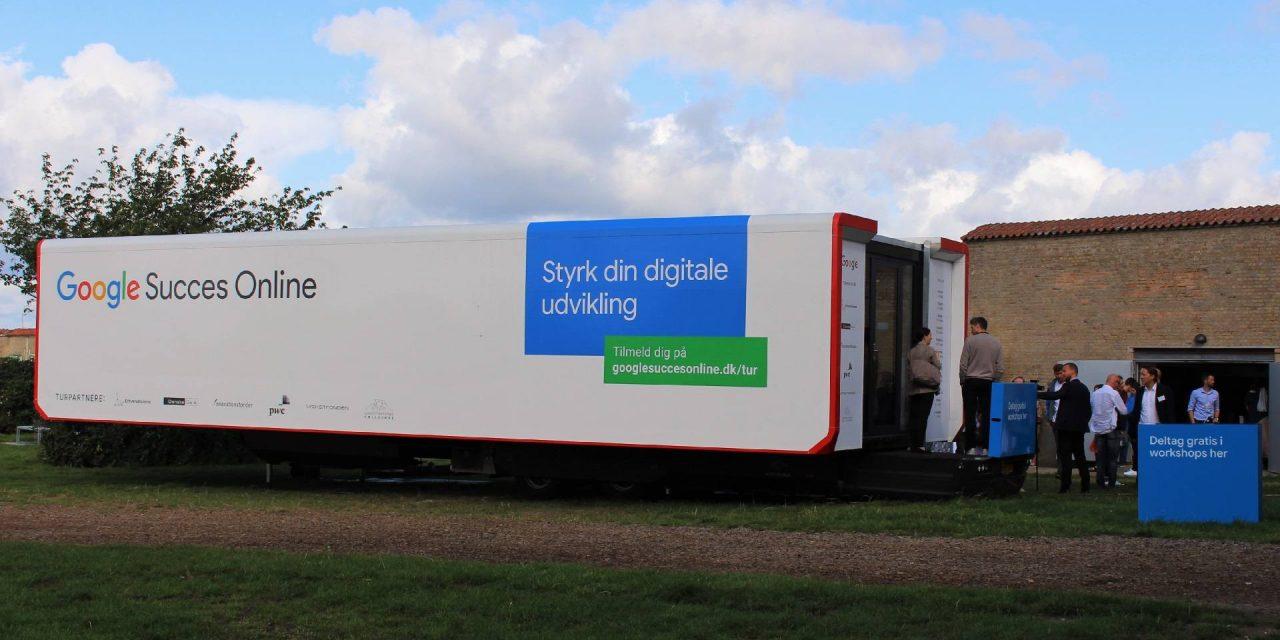 Google Succes Online på vej rundt i Danmark