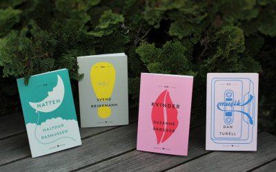Nye bøger i Gyldendals Kolibri-serie – Om kvinder, om natten, om musik og om nej
