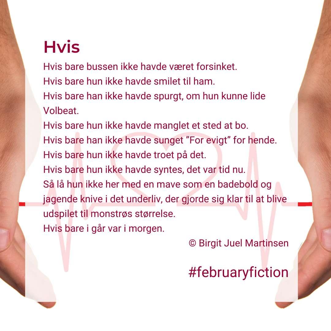 Februaryfiction - Hvis collage