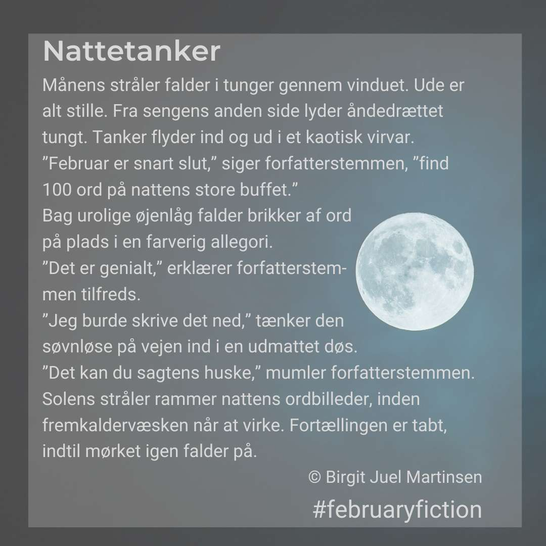 Februaryfiction - Nattetanker collagea